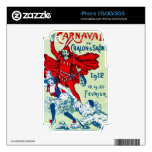 1912 French Carnaval iPhone 2G Decals
