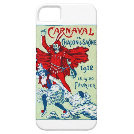 1912 French Carnaval iPhone 5 Cases
