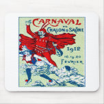 1912 French Carnaval Mouse Pads