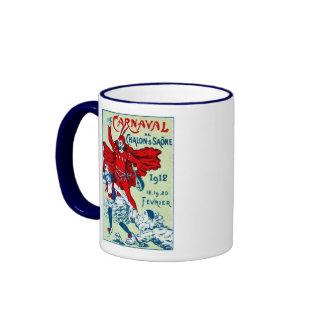 1912 French Carnaval Ringer Mug