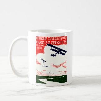 1912 German Aviation Poster Coffee Mug