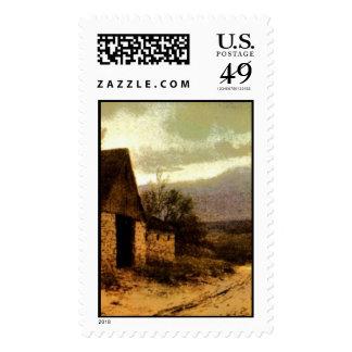 1912) graneros de noviembre Twilight (y señales de Sellos