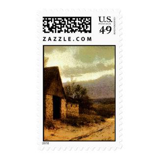 1912) graneros de noviembre Twilight (y señales de Sello