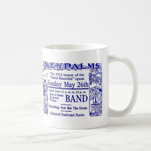 1912 Isle of Palms SC Beach Advertisement Mug