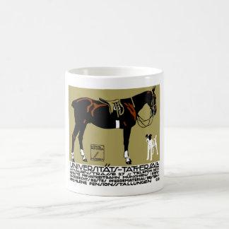 1912 Ludwig Hohlwein Horse Riding Poster Art Coffee Mug