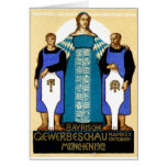 1912 Munich Germany Poster Cards