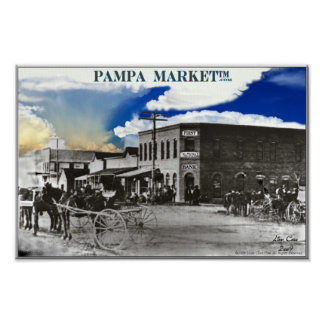 1912 Pampa Texas Posters