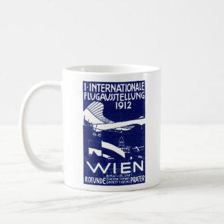 1912 Vienna Air Show Poster Coffee Mug