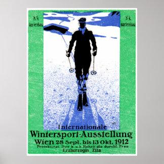 1912 Vienna Winter Sports Poster