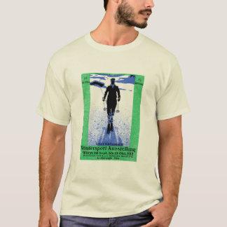 1912 Vienna Winter Sports Poster T-Shirt