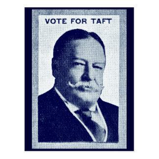 1912 Vote for Taft Postcard