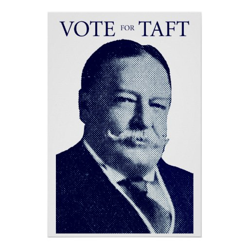 1912 Vote for Taft Poster