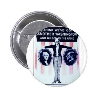1912 Wilson Pinback Button