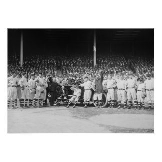 1912 World Series at Polo Grounds Poster