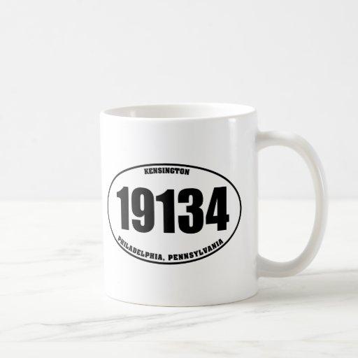 19134 - Kensington Philadelphia, PA Tazas