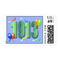 1913 100th Birthday Stamp