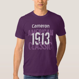 1913 American Classic 100th Birthday Gift For Him T Shirt