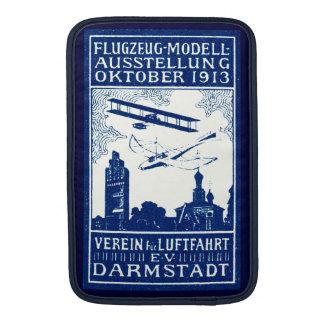 1913 Darmstadt Air Show MacBook Sleeves