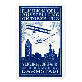 1913 Darmstadt Air Show Rectangular Photo Magnet