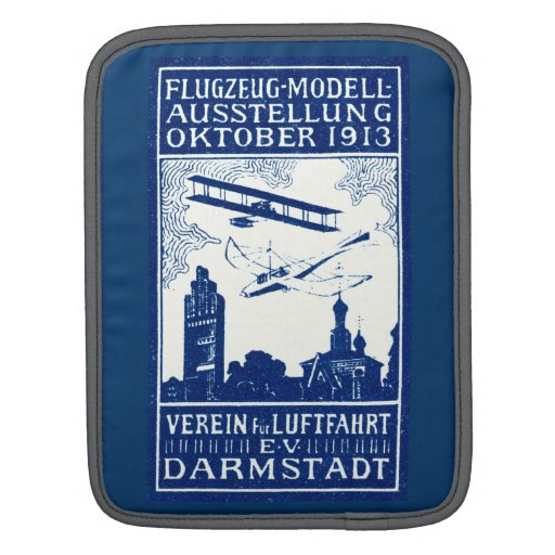 1913 Darmstadt Air Show Sleeves For iPads