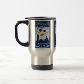 1913 Darmstadt Air Show Travel Mug
