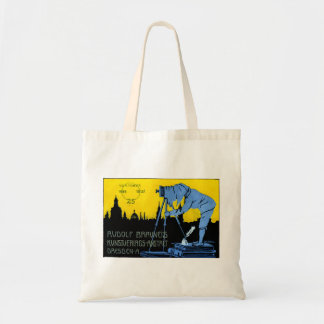 1913 Dresden Photography Poster Budget Tote Bag