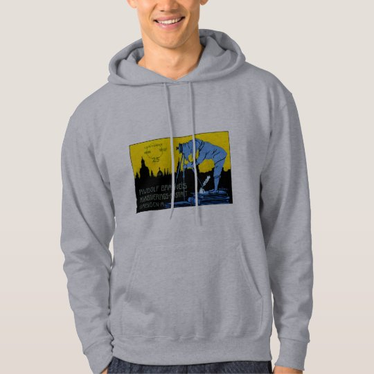 1913 Dresden Photography Poster Hoodie
