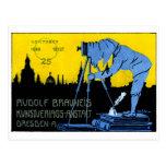 1913 Dresden Photography Poster Postcard