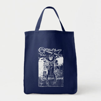 1913 French Carnival Poster Grocery Tote Bag
