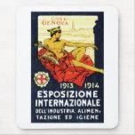 1913 Genova Expo Poster Mouse Pad