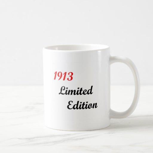 1913 Limited Edition Classic White Coffee Mug