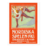 1913 Northern Games Poster Post Card