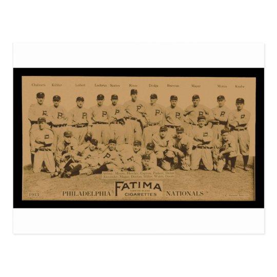 1913 Philadelphia Phillies Fatima Tobacco Card