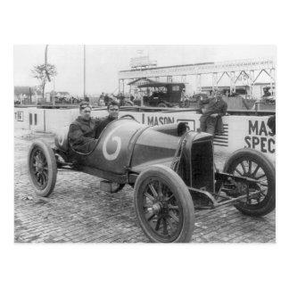 1913 Race Car Post Card