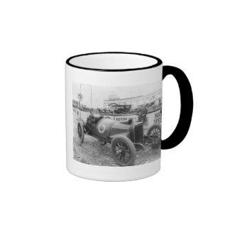 1913 Race Car Ringer Mug