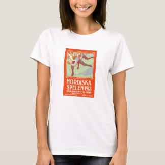 1913 Stockholm Northern Games Poster T-Shirt