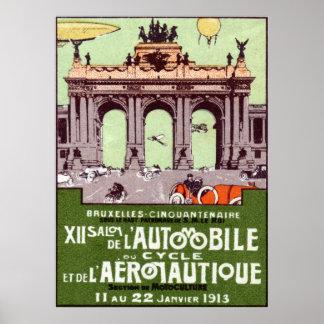 1913 Transportation Expo Poster