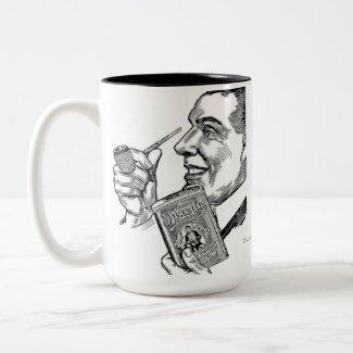 1913 Tuxedo Tobacco Missouri Meerschaum Ad mug