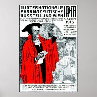 1913 Vienna Pharmacy Poster