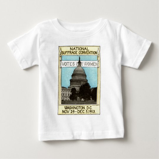 1913 Votes for Women Baby T-Shirt