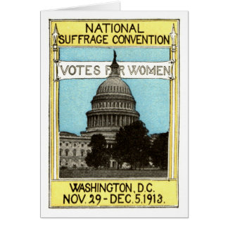 1913 Votes for Women Card