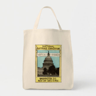 1913 Votes for Women Grocery Tote Bag