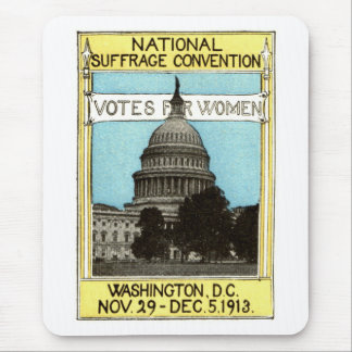 1913 votos para las mujeres alfombrilla de ratón