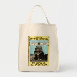 1913 votos para las mujeres bolsa tela para la compra