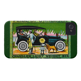 1914 Chandler Automobile Poster iPhone 4 Case