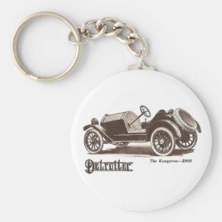 1914 Detroiter Auto Illustration Keychain