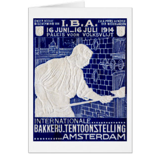 1914 Dutch Baking Expo Poster Cards