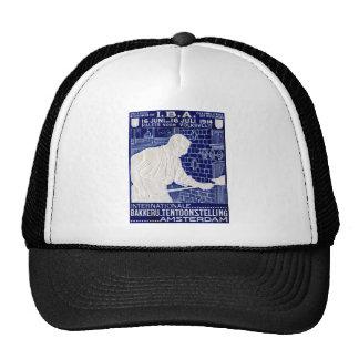 1914 Dutch Baking Expo Poster Trucker Hat