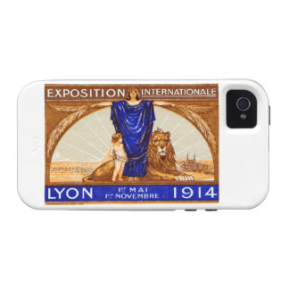 1914 Lyon International Expo Poster iPhone 4/4S Cases