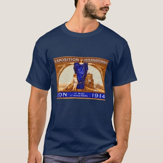 1914 Lyon International Expo Poster T-Shirt